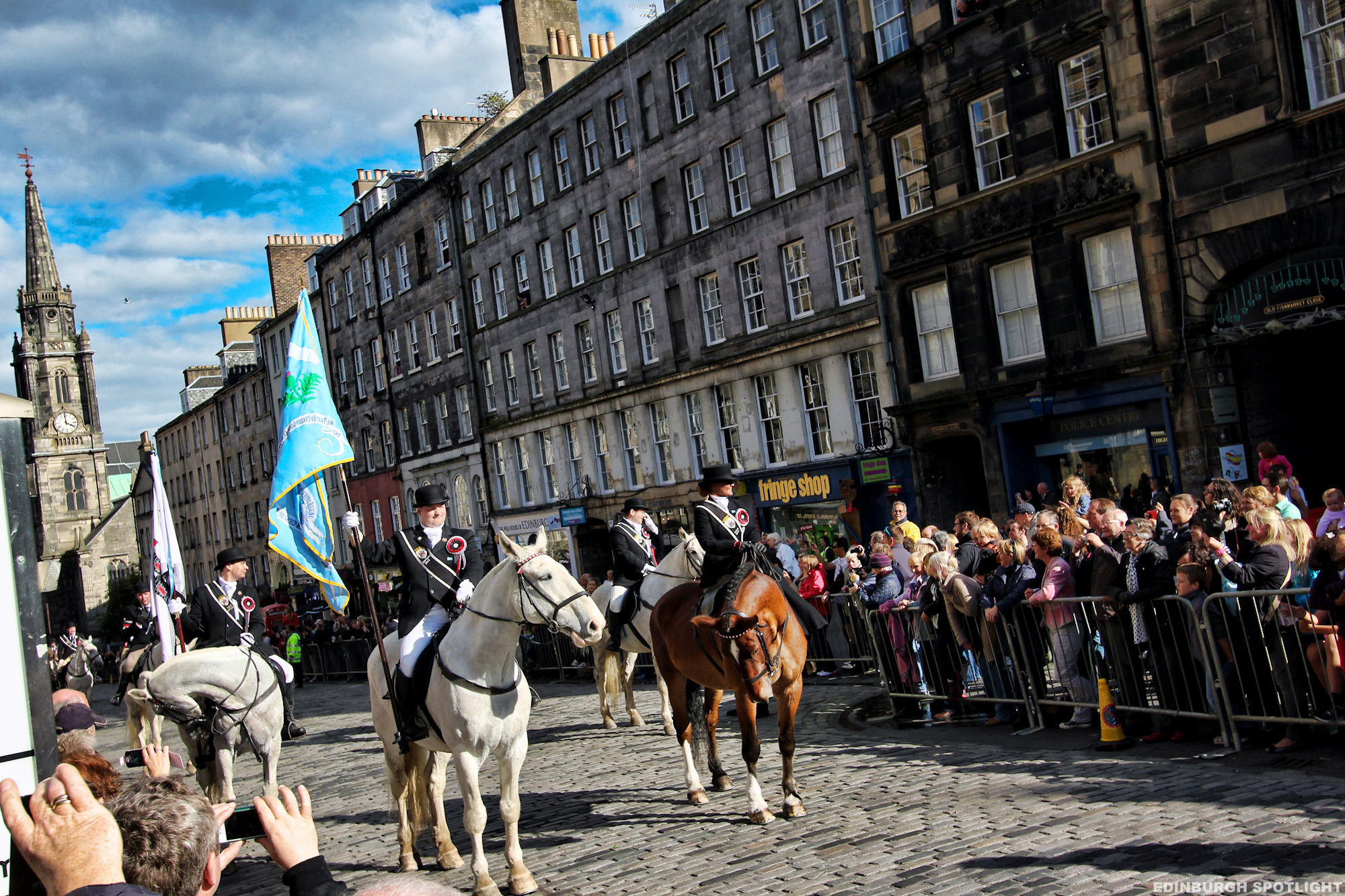 Edinburgh Riding of the Marches 2013