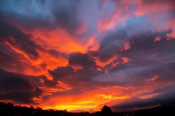 Sunrise on October 29th