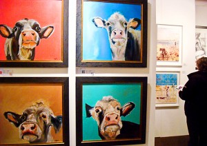 Quirky pieces at the Art Fair