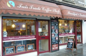 Fair Trade Coffee Shop, Albert Place