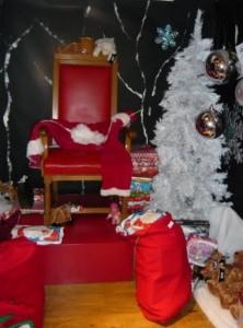 Santa's seat