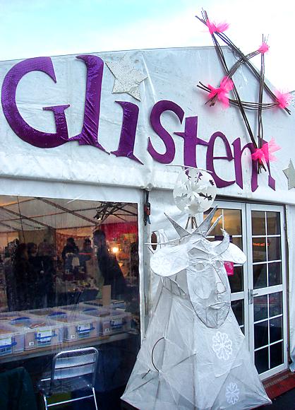 Glisten at the Grassmarket