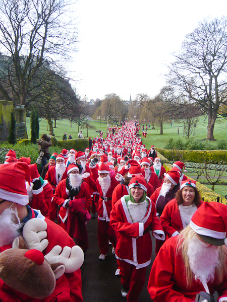 The Great Scottish Santa Run