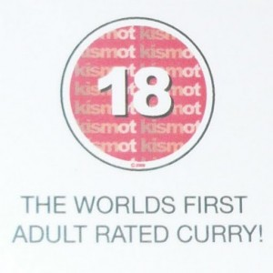 Kismot adult curry rating