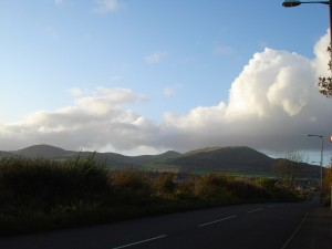 View of the Pentlands