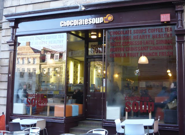 Edinburgh Review Chocolate Soup Hunter Square