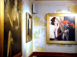 Davy's paintings at the Ship on the Shore