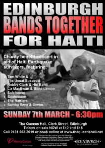 Edinburgh Bands Together for Haiti