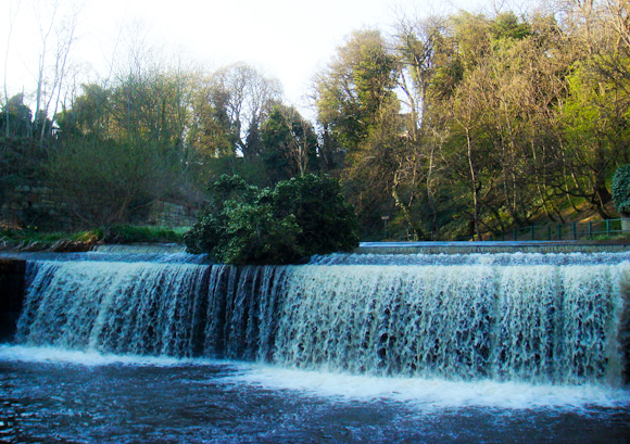Weir near Dean Village