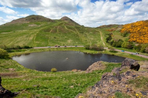 Dunsapie Loch, Holyrood Park