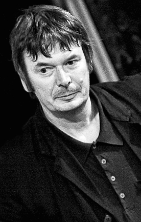 Local literary hero, Ian Rankin