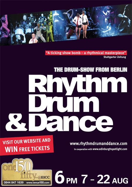 Rhythm Drum & Dance poster