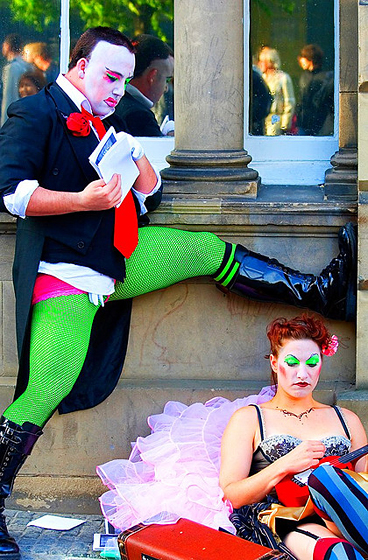 """AFP"" - Amanda Palmer (and friend)"