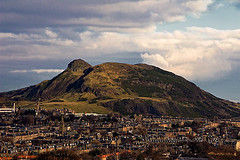 One of Edinburgh's many, many hills