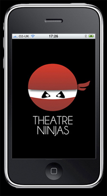 Theatre Ninjas iPhone app