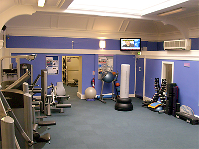 Fitness centre at Warrender