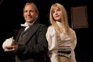 Michael & Flora as Lewis Carroll & Isa Bowman