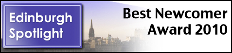 Edinburgh Spotlight Best Newcomer Award 2010