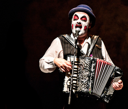 Martyn Jacques of the Tiger Lillies (photo credit: FourthEye Photography)