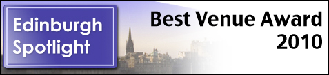 Edinburgh Spotlight Best Venue Award 2010