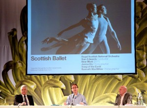 Sir Sandy Crombie, Jonathan Mills and Steve Cardownie present highlights from 2011's Edinburgh International Festival