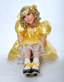 Sarah-Louise as Baby Doll