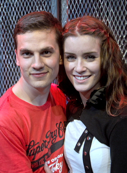 Aaron Sidwell & Lucie Jones