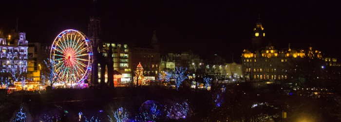 Edinburgh's Christmas Light Night 2011