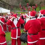 The Great Edinburgh Santa Run 2011