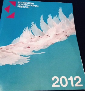The Edinburgh International Festival 2012 programme