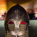 A Viking helmet - look, no horns