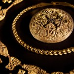 Intricate gold jewellery
