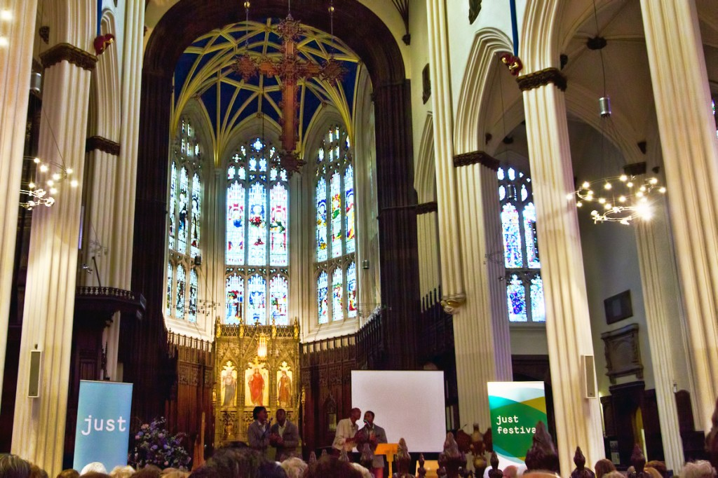The Just Festival programme launch at St John's