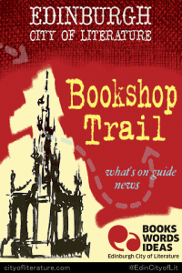 Edinburgh UNESCO City of Literature Bookshop Trail iPhone app