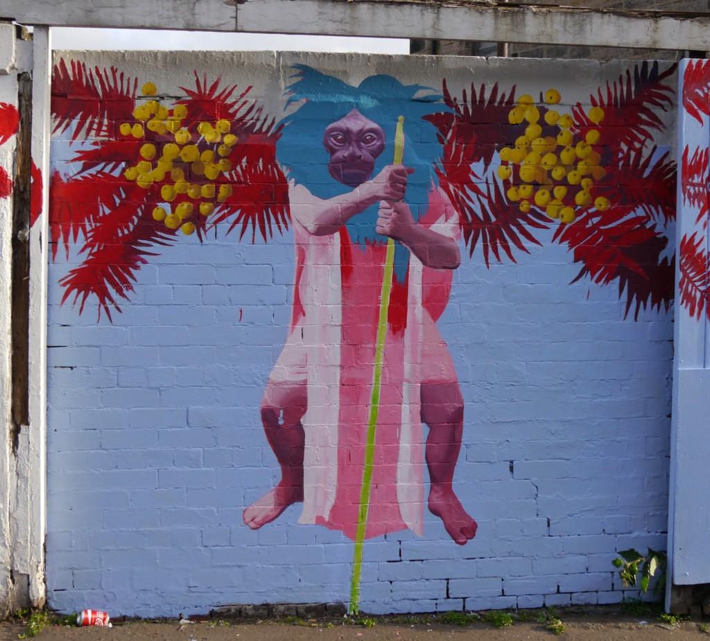 Dalmeny Street mural by Kirsty Whiten