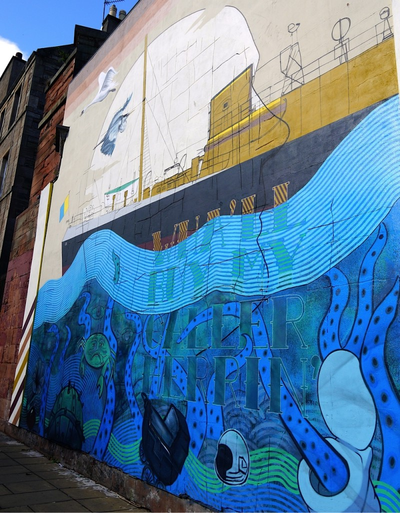 Edinburgh Feature Street Art In Leith And Beyond