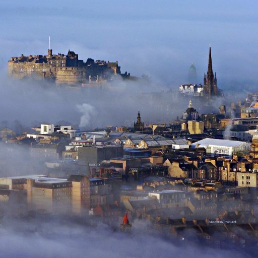 Foggylicious from Salisbury Crags