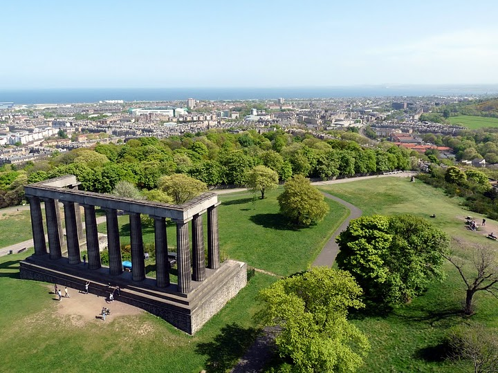 View from Nelson Monument