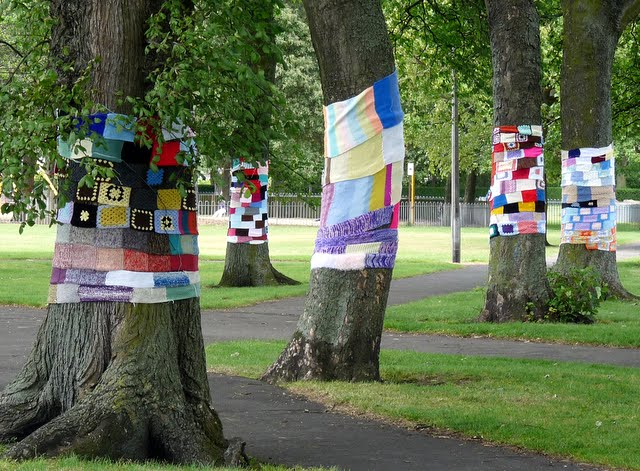 Cool wool on Leith Links