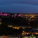 Edinburgh at dusk by Rich Dyson