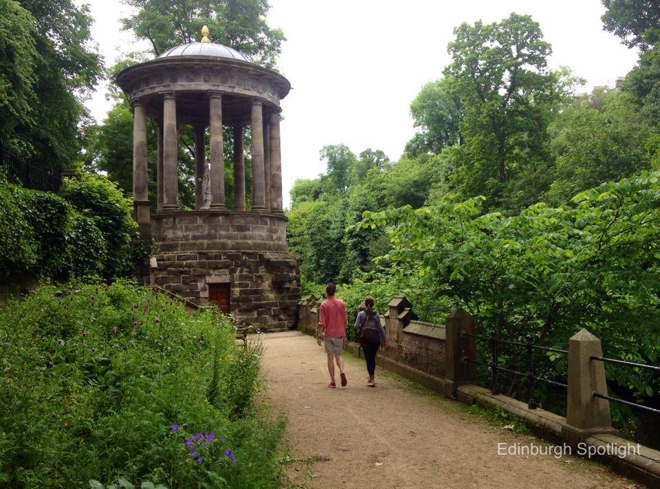 The Water of Leith Walkway and St Bernard's Well