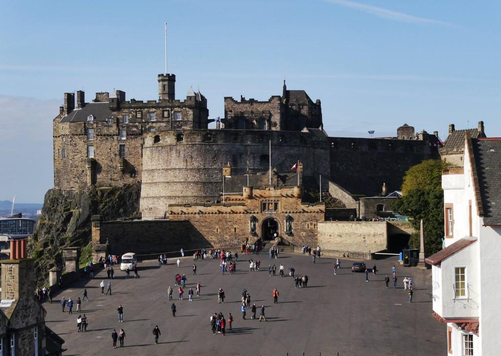 Edinburgh Castle from Camera Obscura