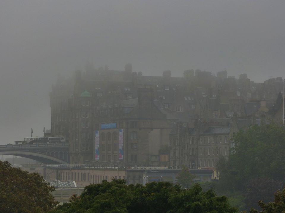 Haar engulfing the Old Town