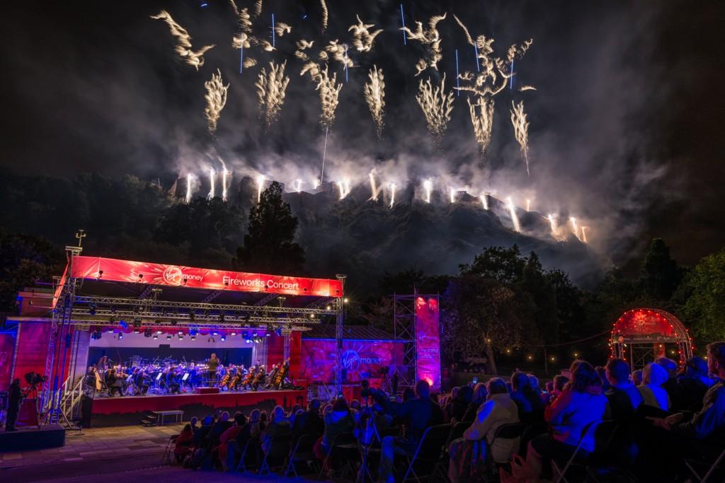 Fireworks concert