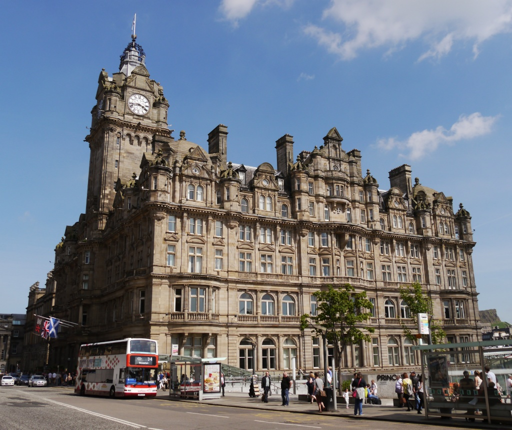 The Balmoral Hotel, Princes Street