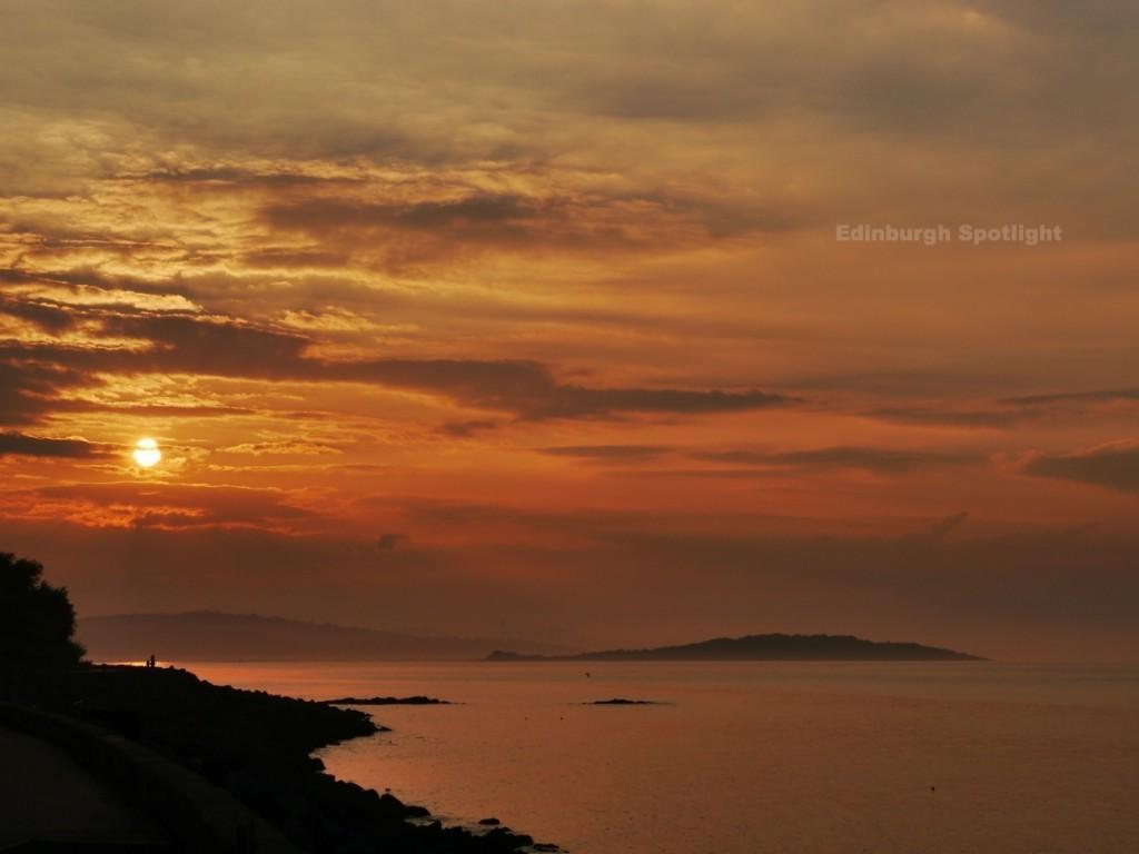 Sunset from Granton