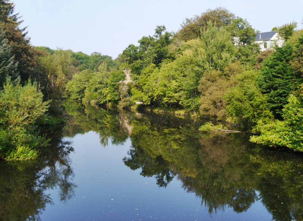 Reflections on the River Almond