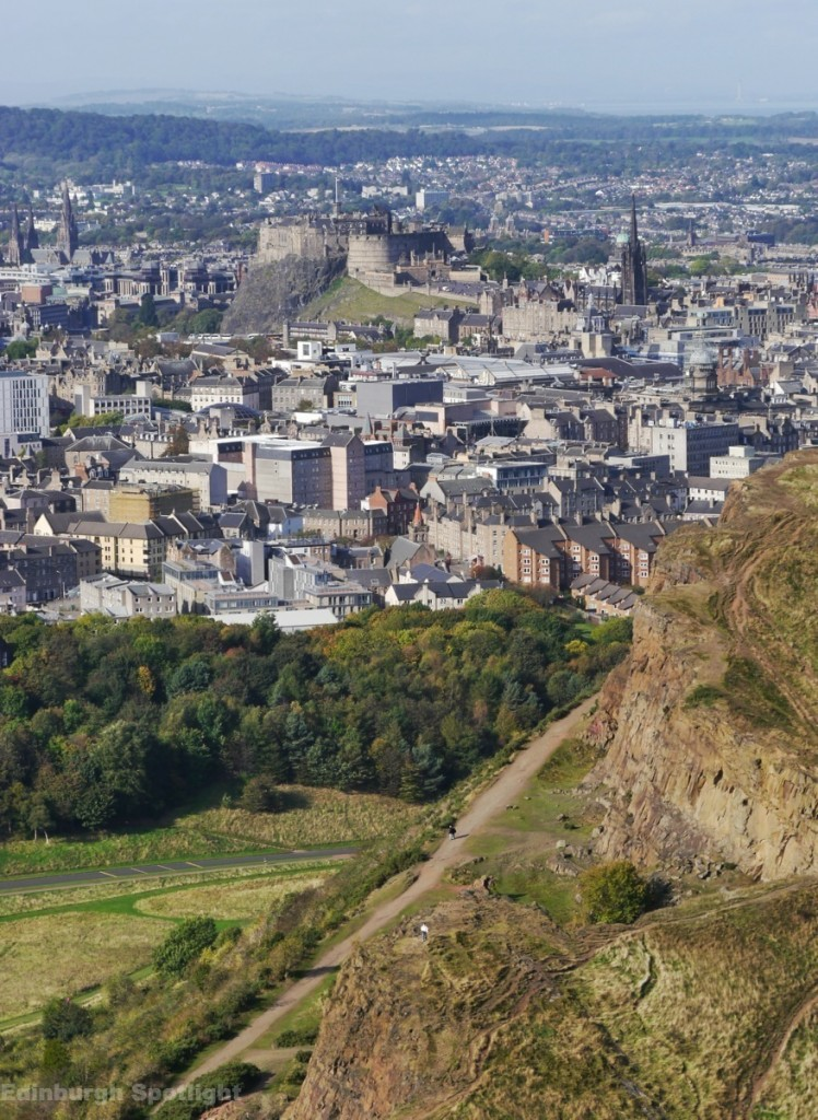 View from Arthur's Seat