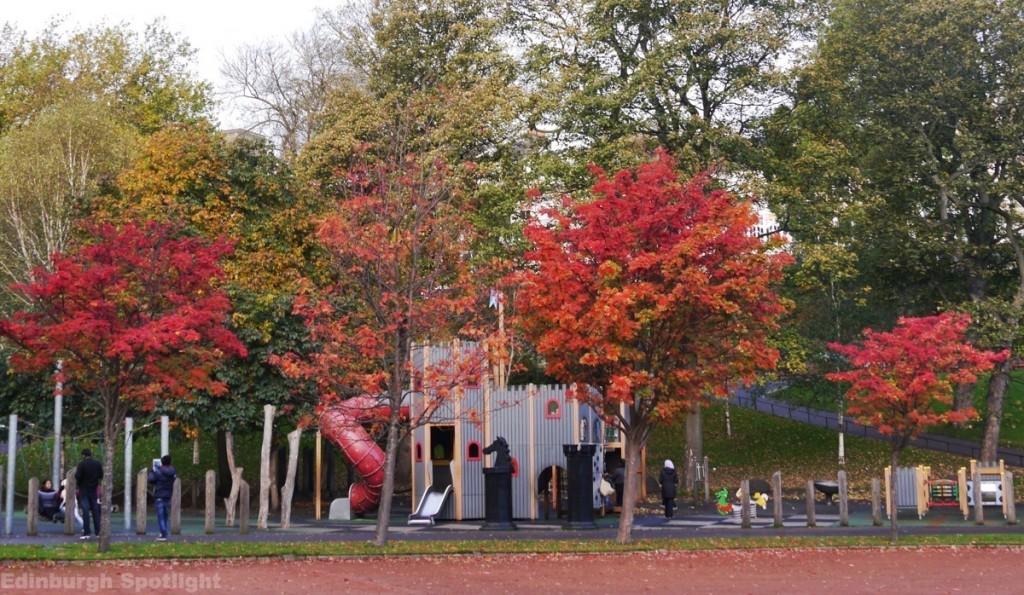 West Princes Street Gardens playpark