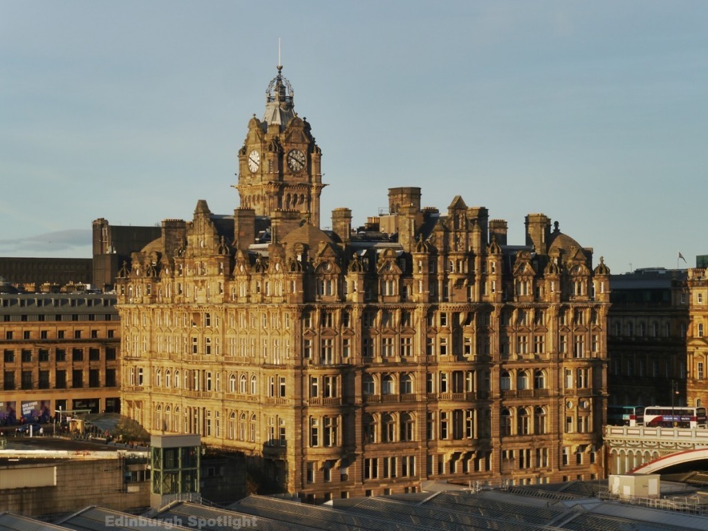 The Balmoral from the Lord Provost's Chambers